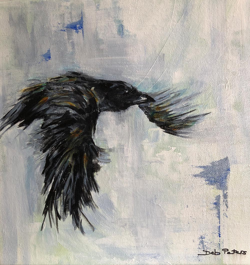 Flight One 12 X 12 Acrylic
