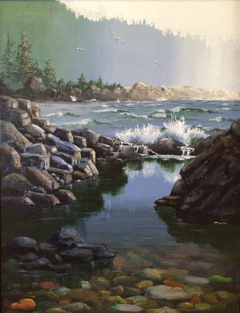 Water's Edge, Deb Peters