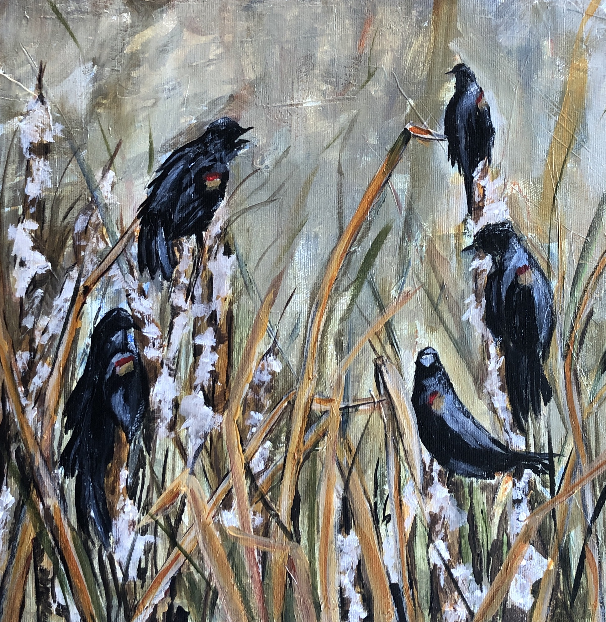 Chorus of Blackbirds