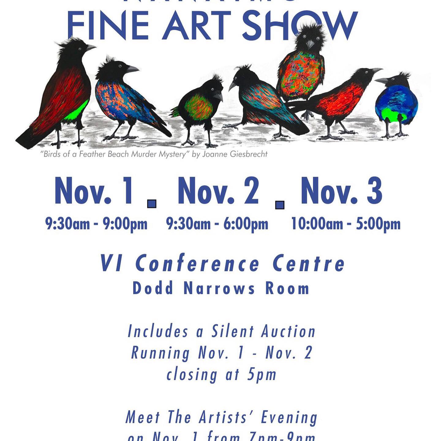 Federation of Canadian Artist Nanaimo Chapter show